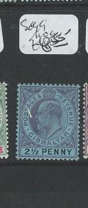 GIBRALTAR  (P2407B) KE 2 1/2D  SG 49   MOG