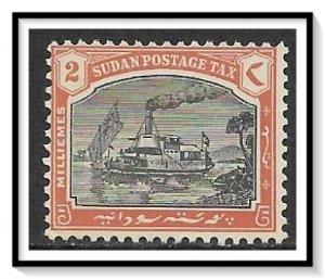 Sudan #J9 Postage Due NG