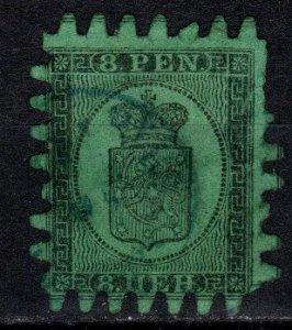 Finland #7  Used CV $225.00  (X437)