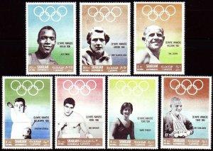 1968 Sharjah 510-516 1964 Olympic Games in Tokio 7,00 €