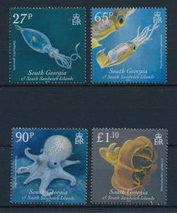 [28222] South Georgia 2010 Marine Life Squid Octopus MNH