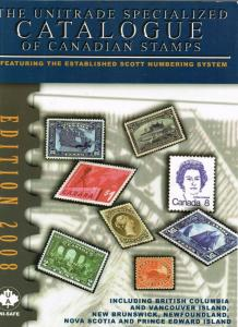 2008  The Unitrade Speciialized Catalogue of Canadian Stamps