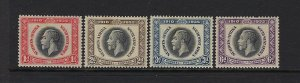 SOUTH WEST AFRICA SCOTT #121-24 1935 GEORGE V SILVER JUBILEE- MINT HINGED
