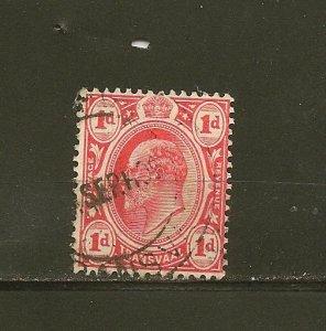Transvaal 282 King Edward VII Used