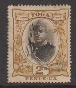 Tonga Sc#40a Used