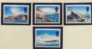 Falkland Islands Dependencies Stamps Scott #1L84 To 1L87, Mint Never Hinged -...