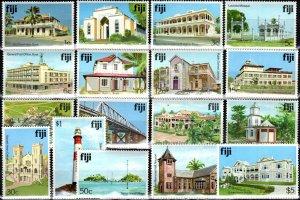 Fiji #409-11, 412-25  MNH CV $13.70 (X360)