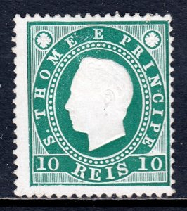 St. Thomas and Prince Islands - Scott #16 - MNG - SCV $4.25