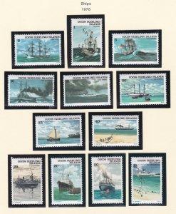 Cocos Islands # 20-31, Ships, NH, 1/2 Cat.