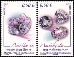 2020 FSAT Amethyst Mineral Pr (Scott 626) MNH