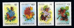 [71130] Grenada 1982 Insects Butterflies  MNH