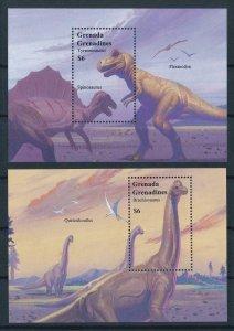 [106267] Grenada Grenadines 1994 Prehistoric animals dinosaurs Spinosaurus  MNH