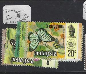 MALAYA TRENGGANU  (P0609B)  BUTTERFLY  SG 110-6    MOG
