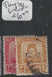 MALAYA TRENGGANU   (P1704B)  SULTAN 3C, 4C  SG 3-4   VFU