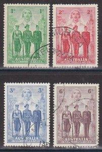 AUSTRALIA 1940 Forces set fine used.........................................Q593