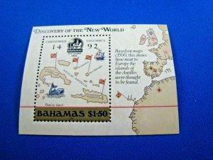 BAHAMAS  -  SCOTT # 644    MNH