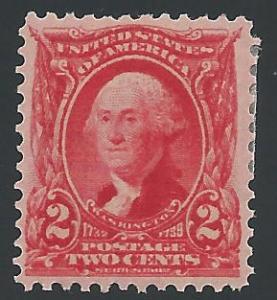 Scott 301, Original gum, 1901-8 Regular Issues