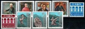 Liechtenstein #775-83  MNH CV $5.65 (X9741)