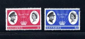 Bahamas 228-229,  Used, VF,  Cat. $3.05 .....   0420193