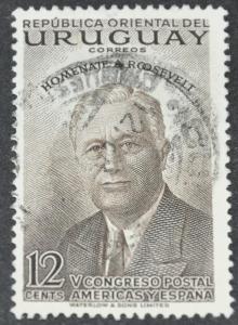 DYNAMITE Stamps: Uruguay Scott #604 - USED