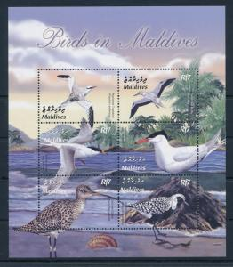 [38214] Maldives 2003 Birds Vögel Oiseaux Ucelli   MNH Sheet