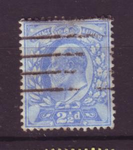 J19682 Jlstamps 1902-11 great britain used #131 king