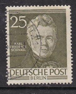 BERLIN ( GE) ^^^^sc# 9N91  used ( Famous)$$@ lar 1132ge32
