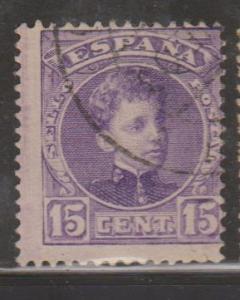 Spain Sc#277 Used