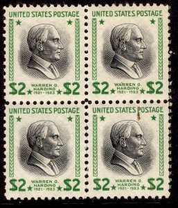 US Stamp #833 Block of 4 MINT NH SSCV $64 (as singles)