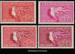 Vietnam Scott 162-165 Mint never hinged.