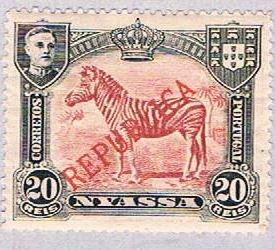 Nyassa 54 MLH Zebra 1911 (BP3785)