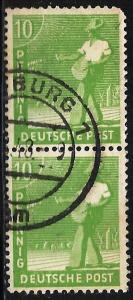 Germany 1948 Scott# 560 Used pair