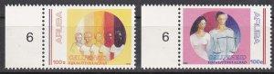 Aruba Sc #81-82 MNH