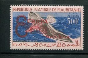 Mauritania #C16 footnote MNH