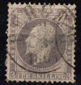 Norway #3 Used CV $50.00 (X9617)