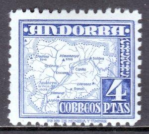 Andorra (Spanish) - Scott #48 - MNH - SCV $8.00