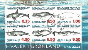 Greenland 308a   SS  Mint NH VF 1996  PD