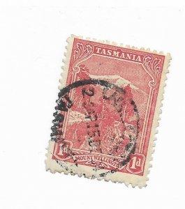 Tasmania #95 Used - Stamp - CAT VALUE $2.50