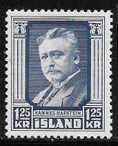 Iceland 284 mnh 2017 SCV $5.75  - 10533