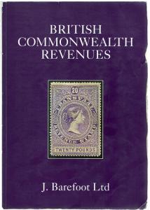 (I.B) Barefoot Commonwealth Revenues Catalogue 2012 (ninth edition)