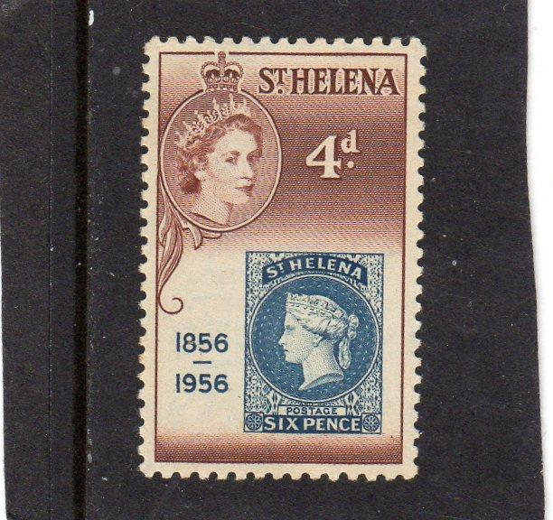 St Helena Cent of Postage Stamps MH