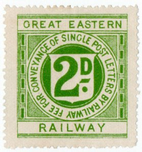 (I.B) Great Eastern Railway : Letter Stamp 2d