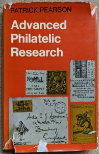 ADVANCED PHILATELIC RESEARCH Patrick Pearson 1971