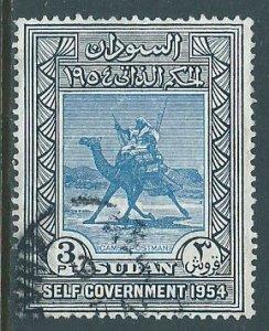 Sudan, Sc #116, 3pi Used
