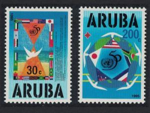 Aruba UNO 2v 1995 MNH SG#158-159