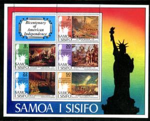SAMOA 432a S/S MNH SCV $7.00 BIN $4.25