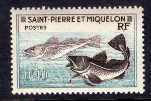 St. Pierre & Miquelon (1957) #351 MH