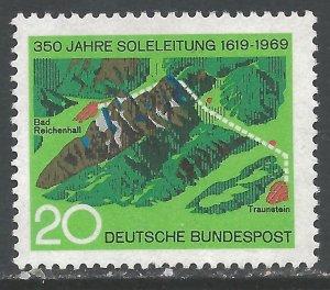 GERMANY 1009 MNH Z2972-4