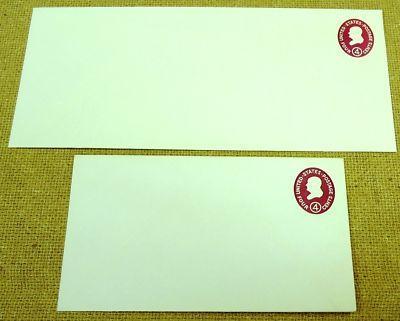 U536a, 4c U.S. Postage Envelope qty 2