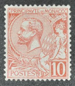 DYNAMITE Stamps: Monaco Scott #16 – UNUSED